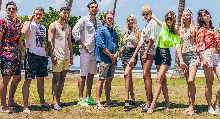 Участники шоу Место под солнцем на Муз-ТВ