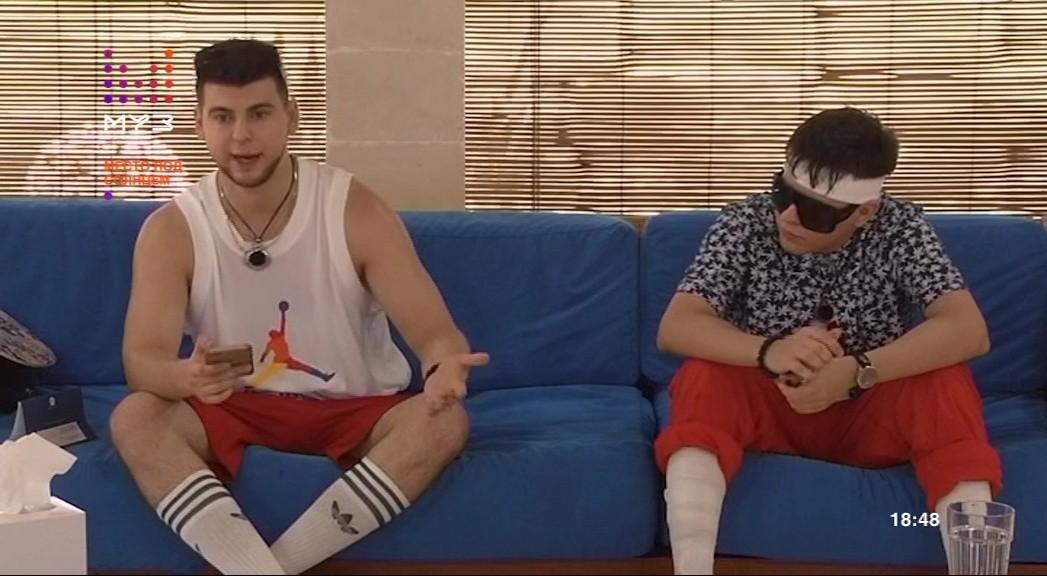 Братья Гаязовы в шоу Место под солнцем